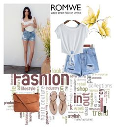 """ROMWE 2\1"" by maidahadzic ❤ liked on Polyvore"