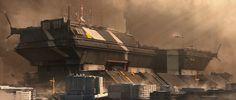 ArtStation - Megastructure, Ken Fairclough