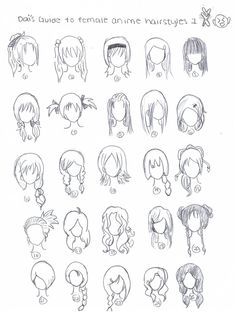Cute art hairstyles