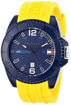 Tommy hilfiger Hombre 1791043 N/a Reloj Acrilico Azul