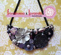 #Collar #flores #handmade #complementos