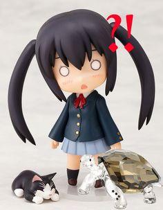 anime figures | Azusa Nakano, Otaku, Haruhi Suzumiya, Anime Figurines, Kawaii Chibi, Anime Dolls, Good Smile, Anime Life, Action Figures