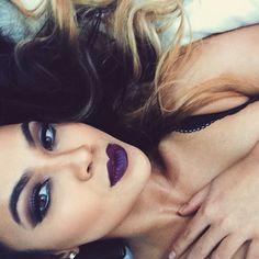 Dark, dark, dark. #makeup