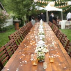 Pros and Cons of a Surprise Wedding.make graduation party with a surprise ending? Reception Decorations, Wedding Centerpieces, Reception Ideas, Floral Centrepieces, Centerpiece Ideas, Mod Wedding, Wedding Reception, Romantic Backyard, Surprise Wedding