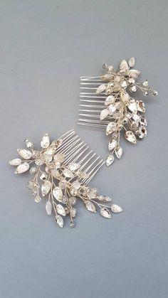 Crystal Bridal hair comb, Wedding hair comb, Bridal headpiece, Wedding headpiece, Bridal hair piece, Wedding hair piece, Bridal head piece