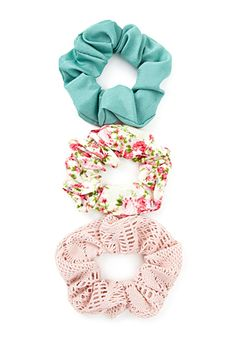 We've gathered 10 amazing small hair accessories to complete your entire look. Scrunchies, Cute Fluffy Puppies, Vsco, Hair Supplies, Hair Beads, Shop Forever, Forever 21, Knitted Headband, Ponytail Holders