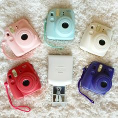 New Fuji Instax colors! We love them all, but which one is your favorite? #FujiFilm #FujiInstax