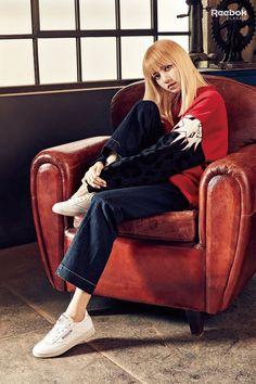 #LISA X #REEBOK Club C Exclusive #BLACKPINK