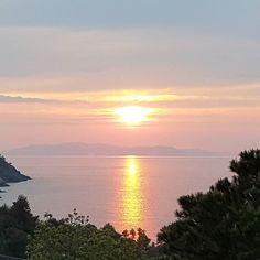 Buongiorno stamani all'#elba iniziamo così... e dalla foto non rende  Continuate a taggare le vostre foto con #isoladelbaapp il tag delle vostre vacanze all'#isoladelba. Visita http://ift.tt/1NHxzN3