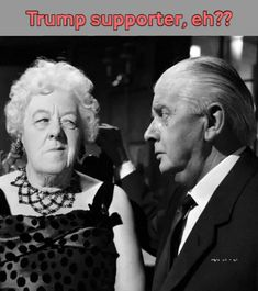 Miss Marple looks askance at Trump supporters! via GIPHY Miss Marple, Agatha Christie's Marple, Margaret Rutherford, Bald Girl, Mystery, Interesting News, British Actors, Classic Movies, Best Actor