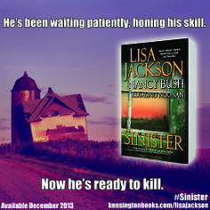 Sinister by Lisa Jackson, Rosalind Noonan and Nancy Bush Paperback 2013