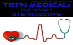 Free audio lessons on how to use a stethoscope for taking vitals and diagnostic purposes. GREAT SKILL TO HAVE WHEN THE SHTF!!! LIKE & PIN to save lives