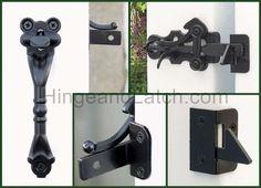 Hampton Thumb Latch - Flush mount product details