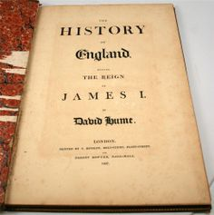 ANTIQUE BOOKS - $249.99 - The History Of England During The Reign Of James I by David Hume Year 1807