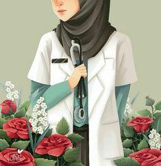 23 best art animasi hijab - my ely Hijabi Girl, Girl Hijab, Muslim Girls, Muslim Women, Girl Cartoon, Cute Cartoon, Hijab Anime, Chiffon Hijab, Tmblr Girl