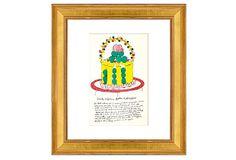 Andy Warhol, Yellow Wild Raspberries on OneKingsLane.com