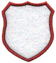 Badge Applique, shield 9. Badge or border element to use stand-alone or as accents to other designs or monograms.