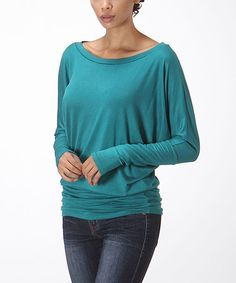 Look at this #zulilyfind! Jade Dolman Top - Women by Bellino #zulilyfinds