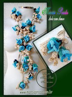 Colar Exotic http://www.facebook.com/acquarelageneral.glicerio/photos_stream#!/MarciaPradoArteComAmor?fref=ts