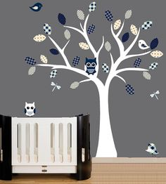 Owl wall decal; $99
