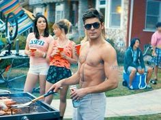 Zac Efron: Shirtless 'Neighbors' Still!: Photo Zac Efron shows off his sculpted shirtless torso in this brand new picture from his upcoming flick Neighbors (formerly titled Townies). High School Musical, Big Sean, Zac Efron Sem Camisa, Zac Efron Neighbors, Bad Neighbors, Neighbors 2014, Nicki Minaj, Zec Efron, Zac Efron Pictures