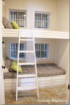 Cute bunk beds idea