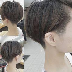 Tomboy Hairstyles, Undercut Hairstyles, Pixie Hairstyles, Pixie Haircut, Easy Hairstyles, Short Hair Tomboy, Asian Short Hair, Asian Hair, Short Hair Cuts