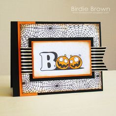 BOO! by Torico - Cards and Paper Crafts at Splitcoaststampers