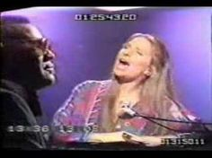 """Barbra Streisand & Ray Charles - """"Crying Time"""" Two greats in one short session."""