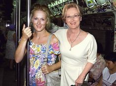 Meryl Streep, Oscar nominee, side by side with her younger version by Linzi Silverman