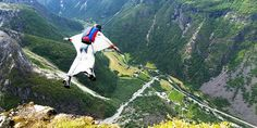 14 Adventures for the Daredevil in You via @mydomaine: B.A.S.E. Jumping in Norway