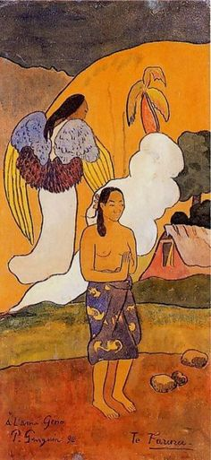 Te Faruru (The Encounter), by Paul Gauguin (1892)........RESIST PINTEREST CENSORSHIP [please add this message to your pins] ۞۞۞۞۞۞۞۞۞۞۞۞۞۞ Gaby-Féerie : ses bijoux à thèmes ➜ http://www.alittlemarket.com/boutique/gaby_feerie-132444.html ۞۞۞۞۞۞۞۞۞۞۞۞۞۞