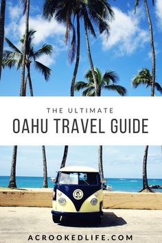Since I have lived on Oahu for some time now, I thought I would put together the Ultimate Oahu Travel Guide! My hope for this guide is to help people tourists as well as locals learn all there is to do on the island from the best beaches to visit, awesome hiking spots, delicious restaurants and more! Click the image to read more! | @acrookedlife |