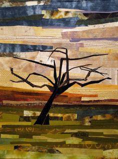 Pat Bishop: Apple Orchard #1, 36H x 27W