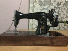 The unfailing Singer hand-sewing machine. I take back every ill word I ever uttered about you. You have exceeded expectations.