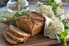 Oppskrift på kjempegodt enkelt og saftig eltefritt brød - Franciskas Vakre Verden Muesli, Food And Drink, Bread, Baking, Granola, Brot, Bakken, Breads, Backen