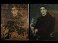 DipintoDiNuovo - Restauro completo di un dipinto su tela - YouTube