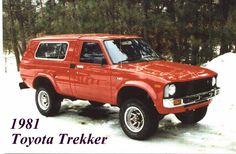 1981 Gold Toyota 4x4  (4th Vehicle)