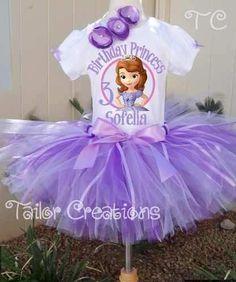 Conjuntos Vestidos Tutu Tutus Princesa Sofia