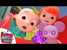 The Wheels On The Bus | English Nursery Rhymes For Kids & Children's | Baby Songs - YouTube