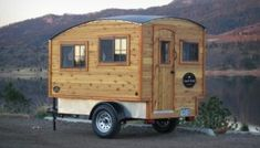 Man Builds $11,800 Lightweight Mobile Micro Camper Cabin (For Sale)