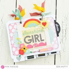 Sunshine Girl Cover_Jess Mutty_Pink Paislee - cute mini
