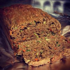 Carrot Zucchini Bread #healthy #fit #food Desserts | ReaganRambler