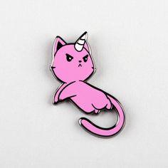The Magical Kittencorn Pin