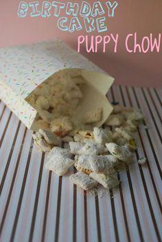 Birthday cake puppy chow. 'Nuff said.