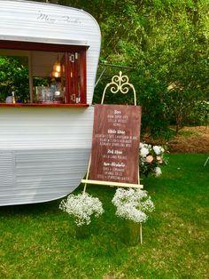 Wedding at Stangate House SA. Miss Fisher Mobile Bar