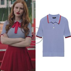 Fashion Tv, Couture Fashion, Fashion Outfits, Classy Outfits, Cool Outfits, Blossom Costumes, Riverdale Merch, Cheryl Blossom Riverdale, Riverdale Fashion