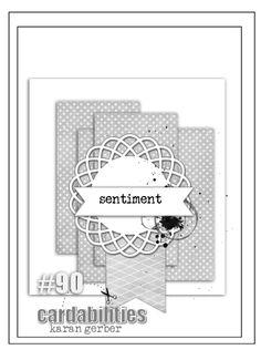 cardabilities: Sketch #90-designed by Karan Gerber