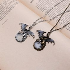 Who wouldn't love a pet dragon? A little dragon would be freaking adorable. But sadly, we can't have one. This pendant is the next best thing Game Of Thrones Drawings, Game Of Thrones Necklace, Beautiful Gifts For Her, Pet Dragon, Family Necklace, Little Dragon, Dragon Pendant, Engraved Gifts, Little Pets
