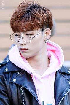 JB - Jaebum - those are some goofy ass glasses. I hate the round glasses trend right now